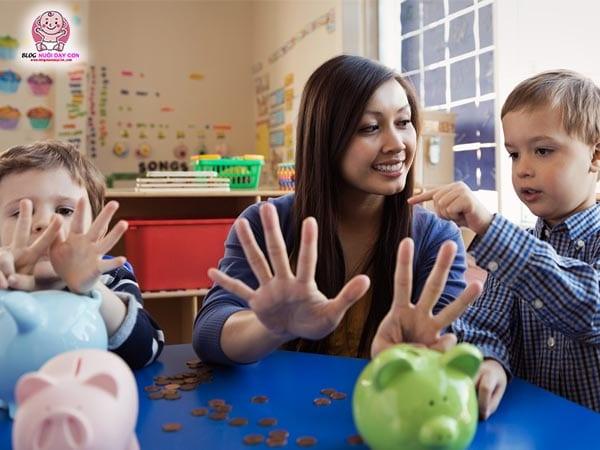 Cách dạy trẻ học toán tư duy