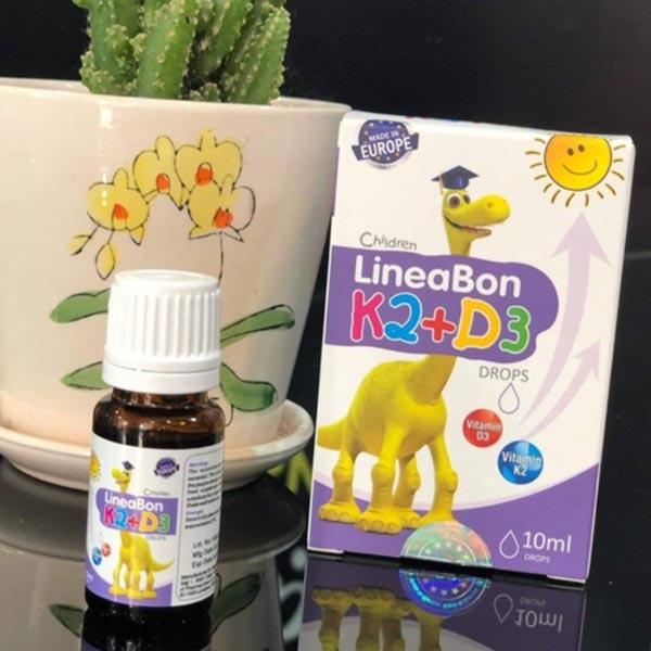 Review Vitamin Lineabon K2 D3