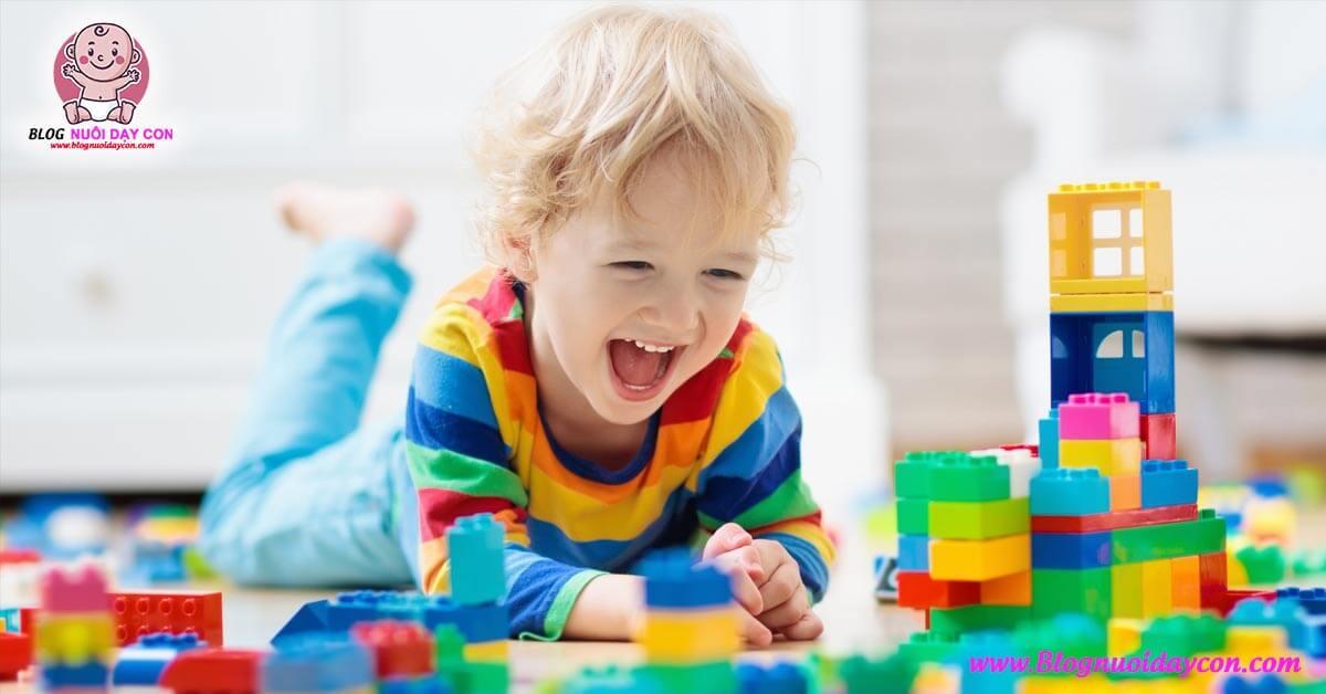 Trò chơi thông minh cho bé 2 - 3 tuổi