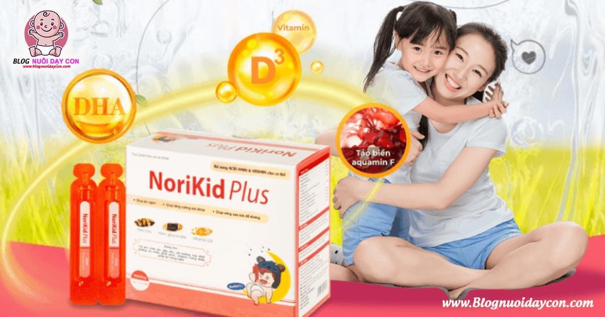 Review Norikid Plus giá bao nhiêu có tốt không