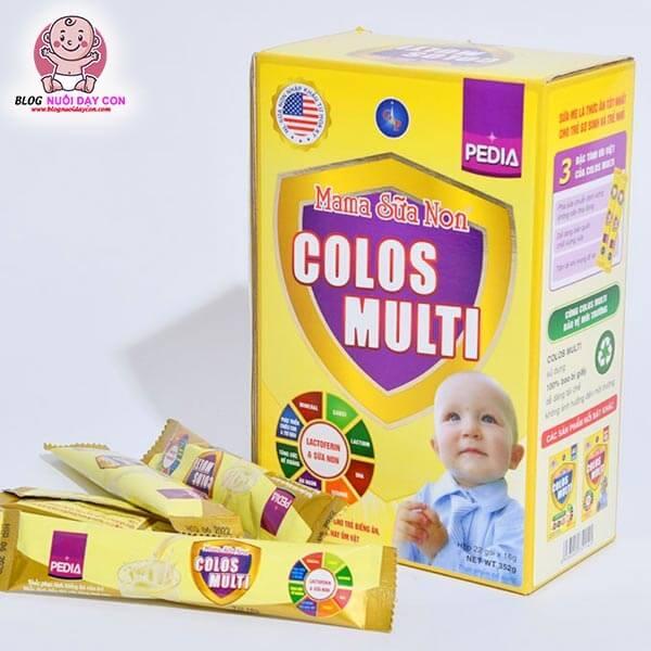 Mama sữa non cho trẻ biếng ăn Colos Multi Pedia