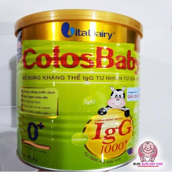 Sữa non cho trẻ biếng ăn ColosBaby