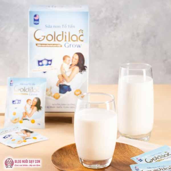 Sữa non cho trẻ biếng ăn Goldilac Grow