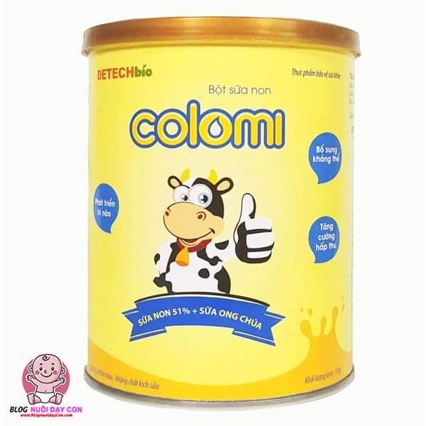 Sữa non cho trẻ sơ sinh Colomi của Mỹ