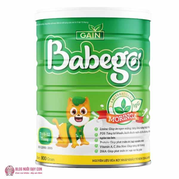Sữa non giúp bé ăn ngon Babego