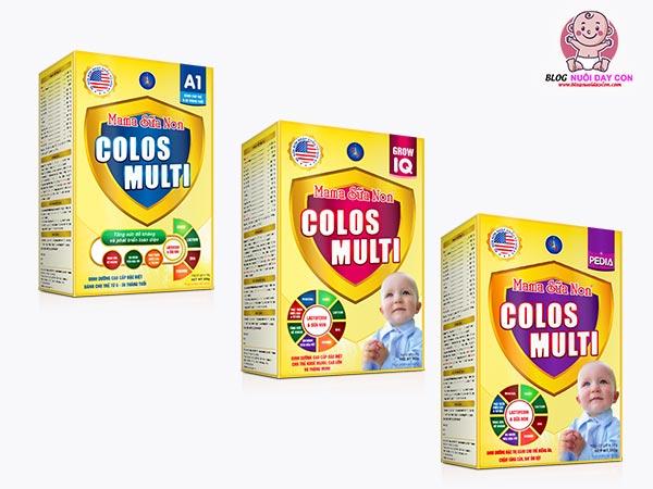 Mama sữa non Colos Multi là gì