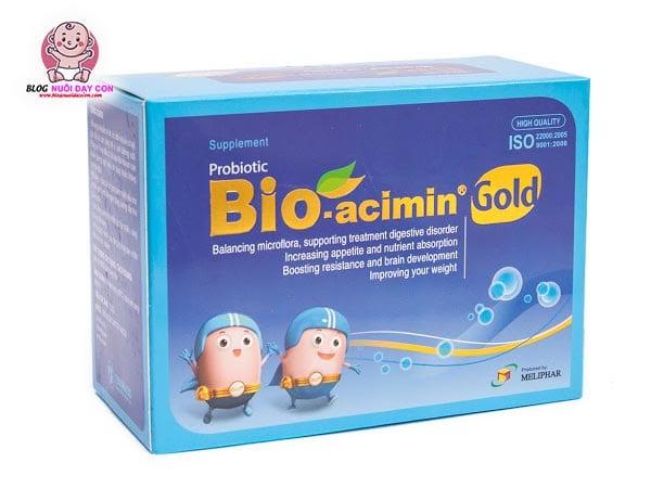 Cốm cho bé biếng ăn tốt nhất Bio Acimin Gold