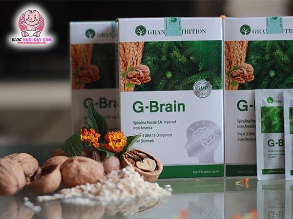 Cốm cho trẻ biếng ăn và kém tập trung G-Brain