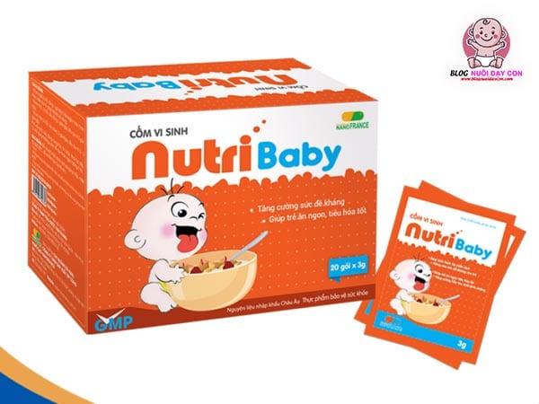 Review cốm cho trẻ biếng ăn tốt nhất Nutribaby