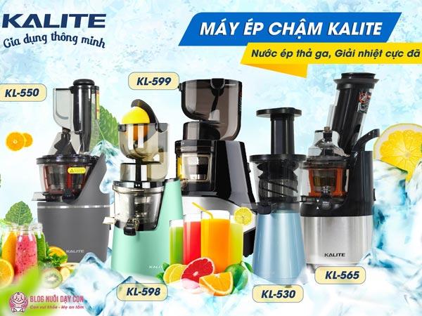 5 dòng máy ép chậm Kalite