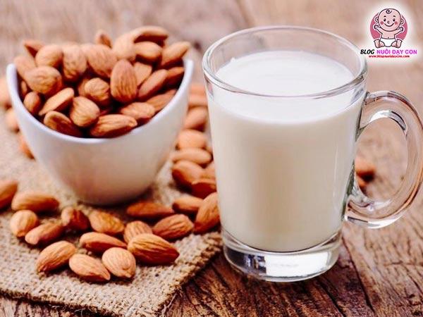 Công dụng của sữa hạnh nhân