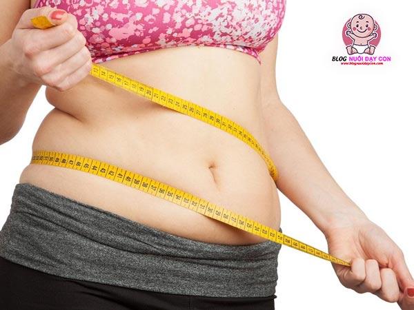 Hỗ trợ giảm cân sau sinh