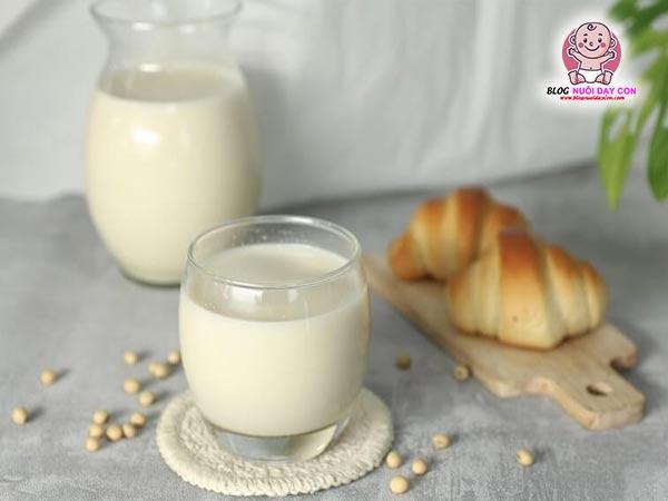 Lợi ích của sữa đậu nành với bà bầu