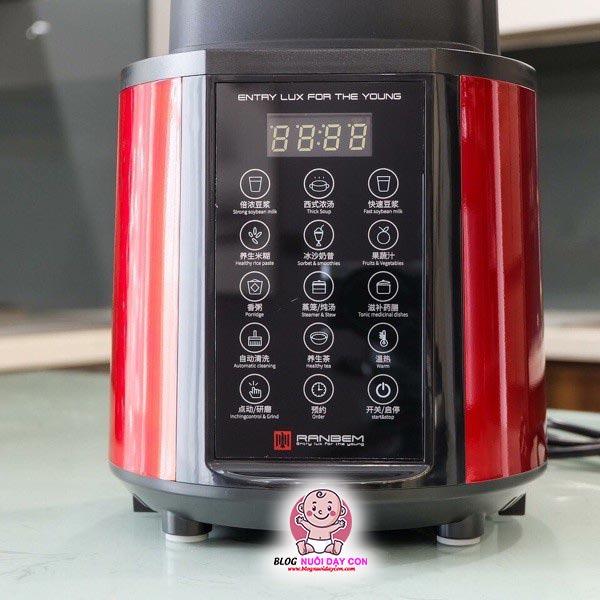 Màn hình cảm ứng máy làm sữa hạt Ranbem 769S