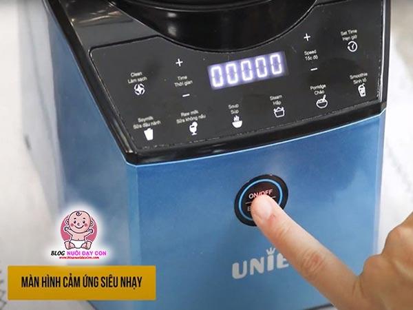 Màn hình cảm ứng máy làm sữa hạt Unie V3