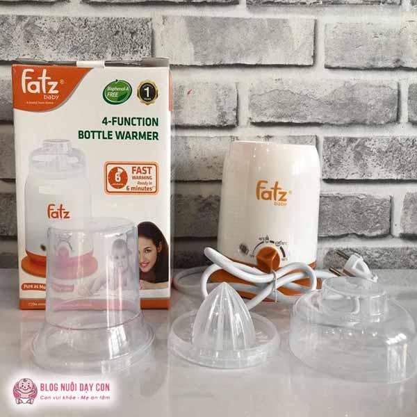 Máy hâm sữa FatzBaby 4 chức năng