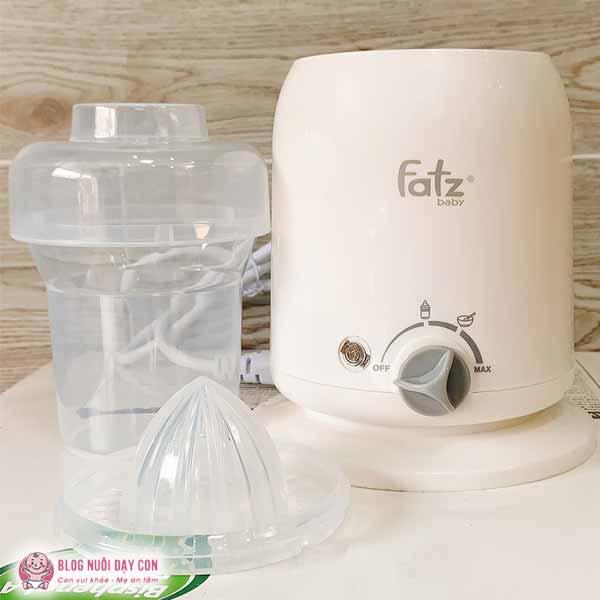 Máy hâm sữa Fatz phiên bản màu trắng