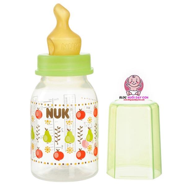 Núm sữa Nuk có thiết kế thông minh độc đáo