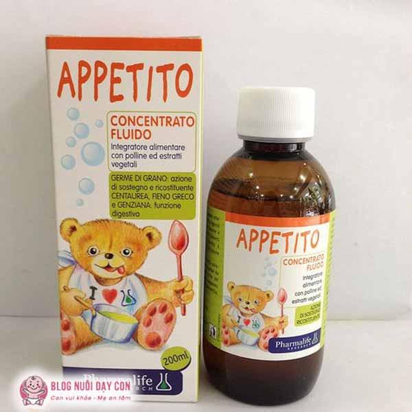 Siro ăn ngon ngủ ngon cho bé Appetito Bimbi