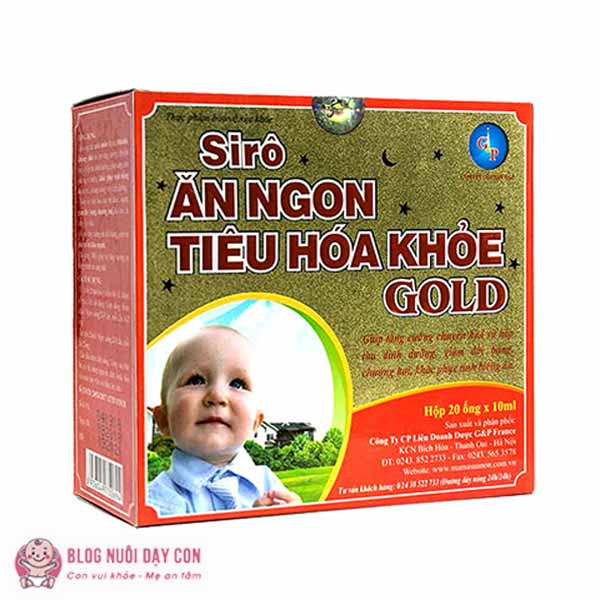 Siro ăn ngon tiêu hóa khỏe Gold