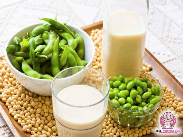 Sữa đậu nành tốt cho phụ nữ sau sinh