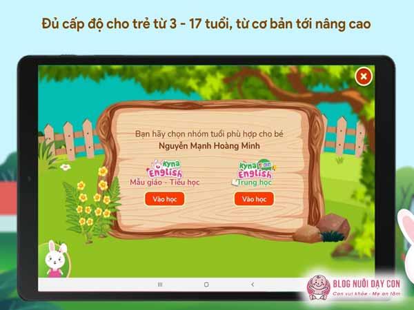 Chương trình học Kyna English