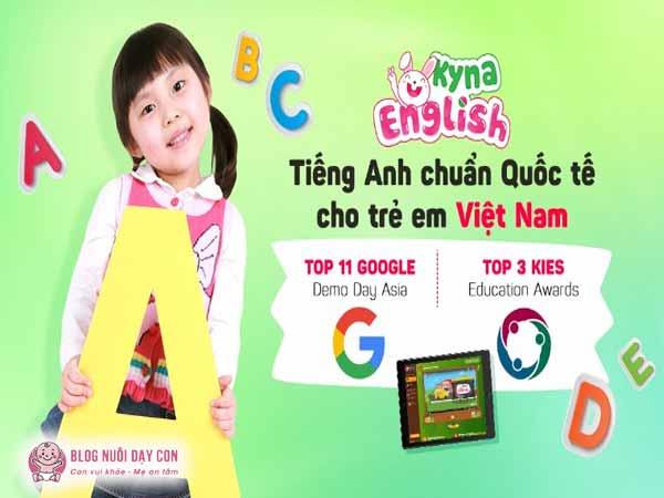 Khóa học tiếng anh online cho trẻ Kyna English