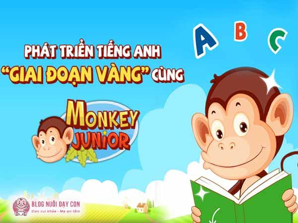Khóa học tiếng anh online cho trẻ Monkey Junior