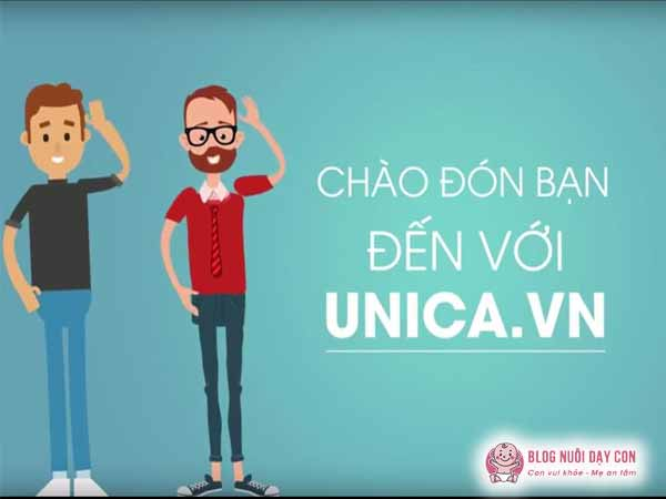 Khóa học tiếng anh online cho trẻ tại Unica
