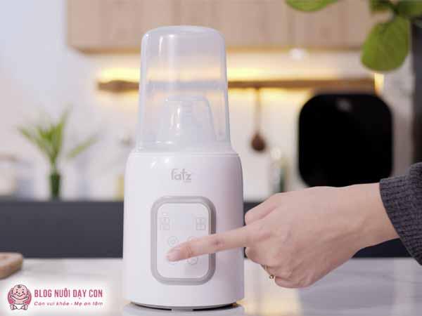 Máy hâm sữa FatzBaby Mono 7 thông minh