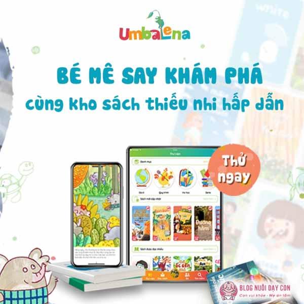 Ứng dụng kể chuyện cho bé Umbalena